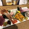 美食酒房 如意 - 料理写真:絶品四種盛り+本マグロ赤身