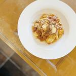 CAFE NOB - モッツァレラチーズの生パスタ ボロネーゼ