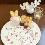 CAFE NOB - Birthdayプレート