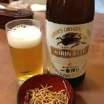 15916022 - ビールを頼むとそばを揚げたおいしいおつまみが付く❤