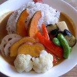 15916642 - 野菜カレー950円