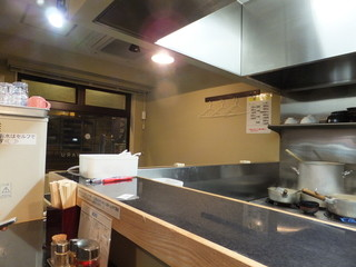 麺処 晴 - 店内の様子