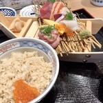鮨・酒・肴 杉玉 - 限定10食 船盛り丼(990円)