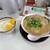 鳥取牛骨ラーメン 京ら - 料理写真:2021年10月 牛骨ラーメンと並ライス(968円)