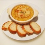 カッチャトーレ - 料理写真:カニ味噌のグラタン パルメザン風味