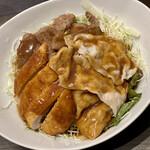 くろんぼ屋 - 料理写真:くろんぼ丼 並