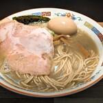 煮干中華 余韻 - 料理写真:味玉凝縮煮干