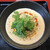 間借り担担麺 En - 料理写真:濃厚胡麻担担麺(1000円)+パクチー(100円)