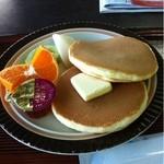 比叡山峰道レストラン - ホットケーキ