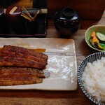 Kabuto - 蒲焼にご飯、肝吸