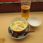 幸鮨 - まったけと鰻いりの茶碗蒸し