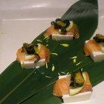 1592216 - 鮮魚と豆腐のカルパッチョ