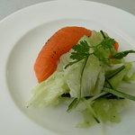 1592573 - 2008クリスマスランチ(2000円)の前菜