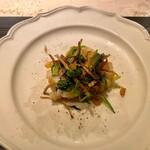 159202005 - 松茸と鱧の香り炒め