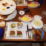 奈良偲の里  玉翠 - これが、朝食です