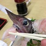 深海魚料理 魚重食堂 - げほうに自分の身を食べさせてみました
