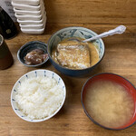 魚力 - さば味噌煮定食(カミ)
