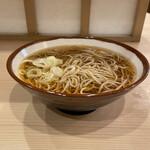 そばの神田 東一屋 - 掛け蕎麦