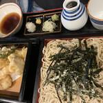 蕎麦・料理 籔半 - 野菜天ざる