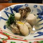 赤津加 - 牡蠣おろし煮