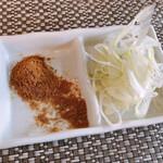 つけ麺 和 - 薬味