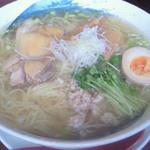 麺や ようか - 鶏しおらーめん(680円)+大盛り(20円)