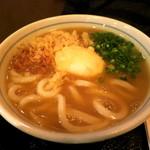 讃岐うどん 蔵之介 - 熟卵カレーうどん (2012/11)