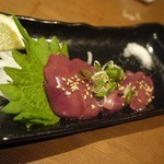 炭火焼専門店 麹庵 - 鶏肝です