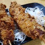 タカマル鮮魚店 - マグロ串