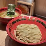 玉 赤備 - 味玉豚鷄つけ麺