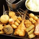 串猿 - 50種以上あるので迷ったらコレ!野菜・肉・魚バランスよく食べられる10本セットがオススメ!