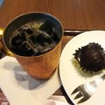 上島珈琲店 - アイスコーヒーSとJRB