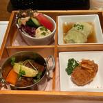 159268958 - 洋食小皿4種