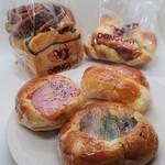 どんぐり - 料理写真:今回購入したパンたち