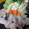 割烹 由多嘉 - 料理写真:「ふぐコース」天然素材を大切に、丁寧に調理しました。