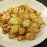 15929059 - 鶏肉とたまねぎのカレー炒め(アップ)