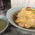 大衆中華 なるみ - 料理写真:チキンラーメンの天津ヤキヤキ650円