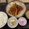 富士見食堂 - 料理写真:あげたてアジフライ定食
