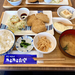 アジフライ たるたる食堂 - 『アジフライ定食』様(950円)
