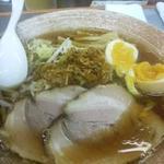 覆麺 智 - 味玉覆麺(醤油)