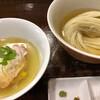 らあめん サンド - 料理写真:昆布水つけ麺塩!塩ダレが黄金色に輝いてます!