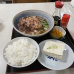 浅井屋 - きしめん定食 700円