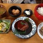 15931663 - ネジマキカフェ ランチ+飲み物 ¥1000円