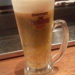 利心 - ビールはジョッキで