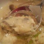 利心 - 牡蠣が入ってました。