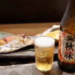 緑苑 - 秋刀魚と秋味