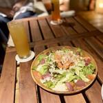 Hawaiian Dining PUROA - ロミロミシーザーサラダ