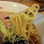 やまき - 支那そば(麺-up)