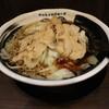 麺屋わっしょい - 料理写真:男の根性黒醤油(850円、斜め上から)