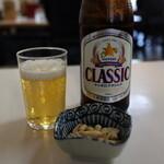 159322026 - ビール 450円(ピーナッツ付き)(2021年10月)